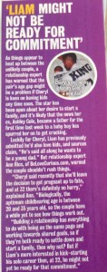 Cheryl & Liam age gap romance article