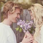 romantic love in Springtime