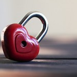 BeLoveCurious Why Curiosity is the key to love - A red heart shaped lock to represent Why curiosity is the key to finding love - BeLoveCurious
